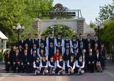 School photo ZBCT Zibo China
