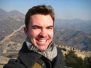 On The Great Wall at Badaling