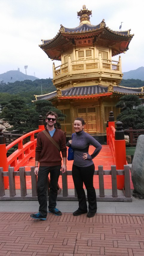 With Emily at Nan Lian Garden, Hong Kong