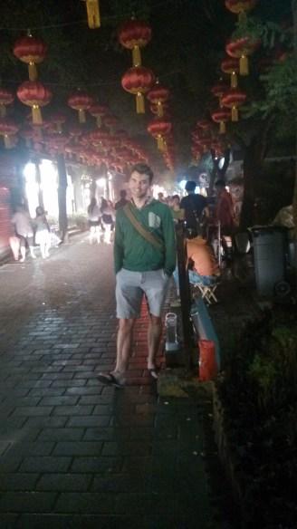 Walking a hutong in Beijing