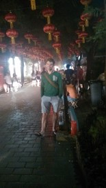 Walking a hutong in Beijing