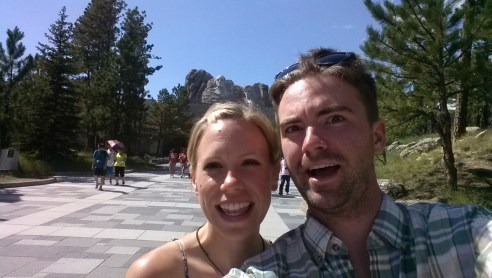 Together at Mount Rushmore