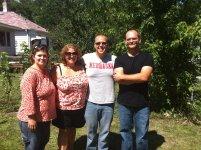 My friends the Koegler family in Minneapolis, MN, USA.