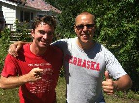 My best friend, Ken. Minneapolis, MN, USA.