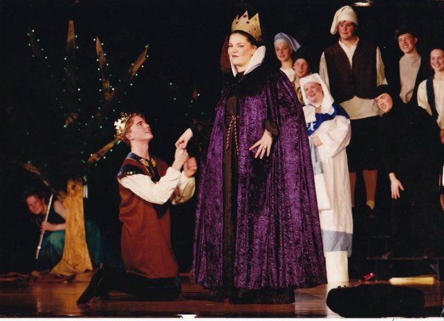 One Act play, Watertown-Mayer High School, 2001