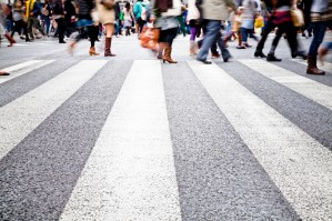 Pedestrian Accident: Can a Pedestrian Hit Outside A Crosswalk Get Compensation For His Injuries?