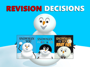 snowman REVISION DECISIONS older-1 copy