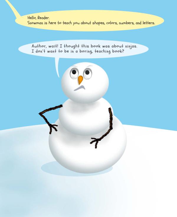 Snowman Vs. ABC & 123, page 1
