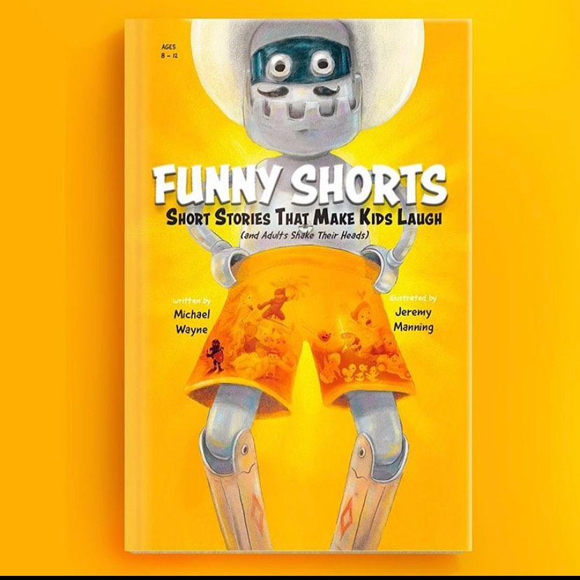 New Short Story book, FUNNY SHORTS