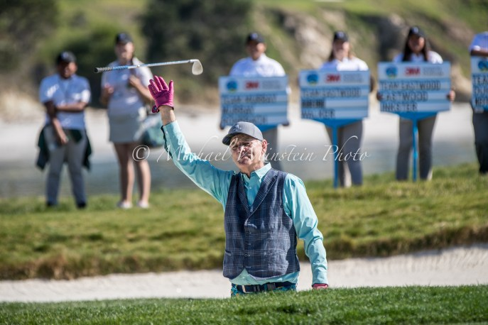 Bill Murray Bunker 3M Sootout 2018 Pebble Beach-82