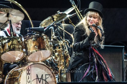 Mick & Stevie Fleetwood Mac The Classic West 2017 Dodger Stadium