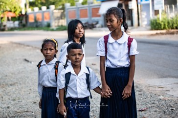 Tonle Sap Lake- Brother and Sisiters to school 2