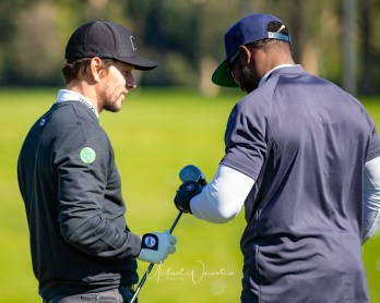 Mark Wahlberg and Reggie Bush Celeb Cup 2019-1