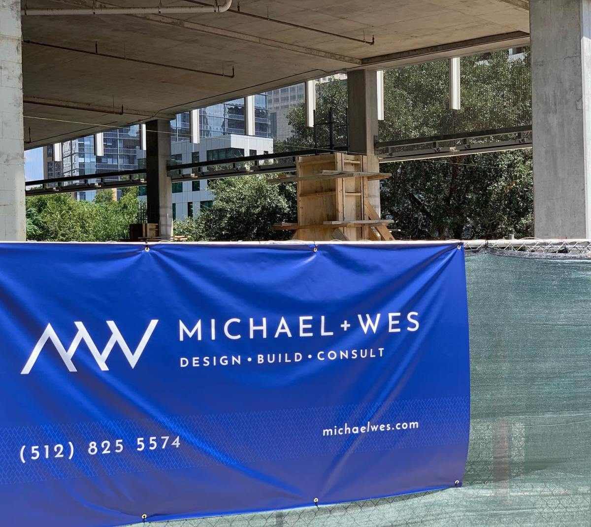Always great to see a new sign raised on our projects.