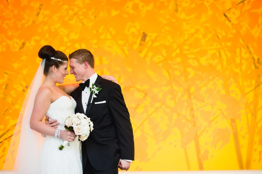 carnegie museum wedding couple