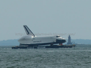 Space Shuttle Enterprise I missed the flight but saw the