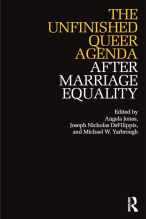 cover of Unfinished Queer Agenda volume