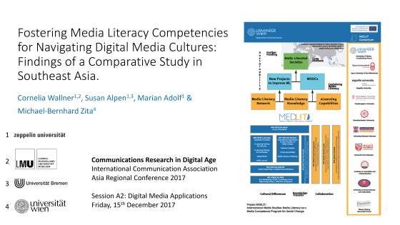 Fostering Media Literacy Competencies for Navigating Digital Media Cultures (Paper Presentation)