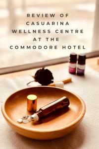 Casuarina Wellness Centre at The Commodore Hotel michalah francis