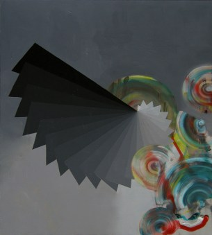 self replicating machine elves, 2008, 100x90cm