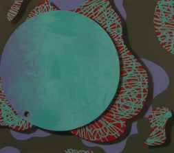 chewing gum for the eyes, 2012, 140x160cm