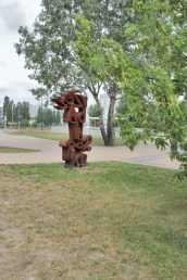 sculpture in the park, 2012, Warsaw-Ursynów