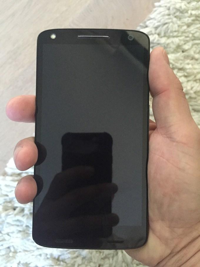 Telefon w mojej dłoni