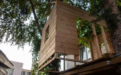 Skandynawski domek na drzewie: #4 Ściany i dach