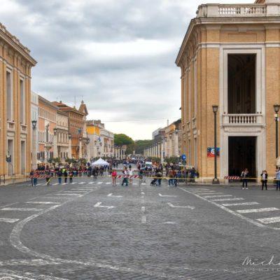 Piazza San Pietro - Vaticano, Roma, Italia.