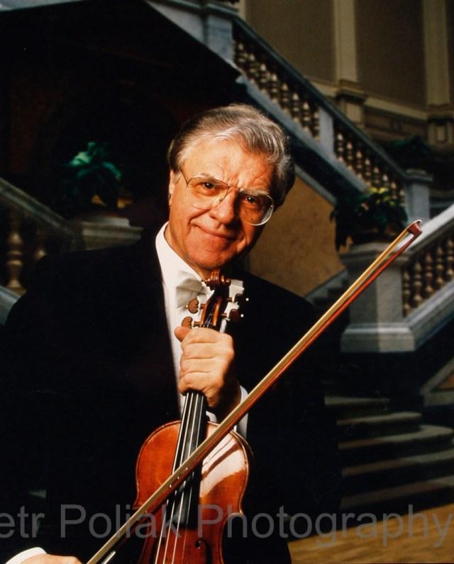 Portrait of Josef Suk, violinist