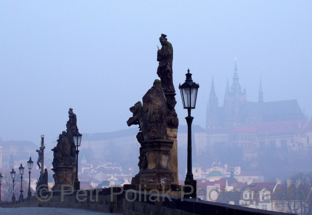 Prague – Castle through the fog