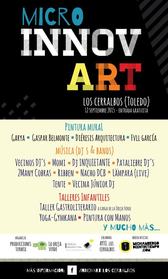 Innovart regresa a Los Cerralbos con un maratón de actividades culturales