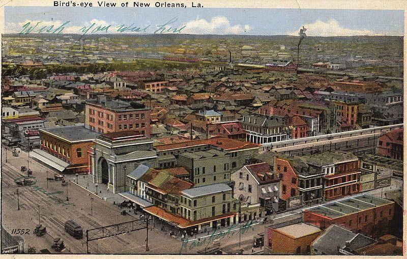 Etanol, Metanol y Jazz en Storyville de Nueva Orleans