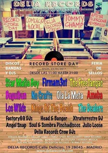 Delia Records celebra el Record Store Day 2017.