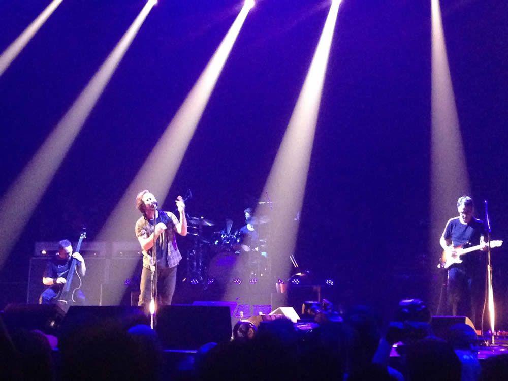 La banda de Seeatle tocó en el Palau Sant Jordi
