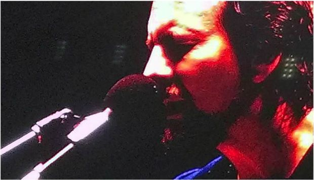 El líder de Pearl Jam en Portugal.