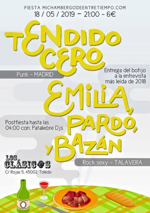 Participan Emilia, Pardo y Bazán