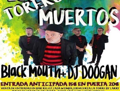 Los Toreros Muertos de Pablo Carbonell actuarán en el PielaRock de El Real de San Vicente.