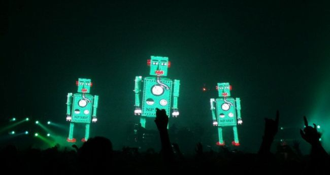 The Chemical Brothers en concierto