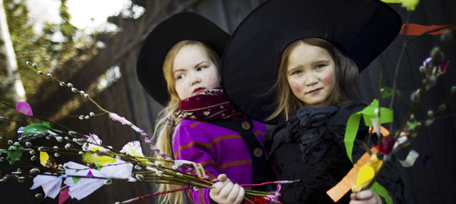 Brujas en Pascua - Finland.fi