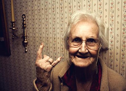 Abuela Metalera
