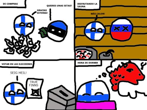 Finlandball día