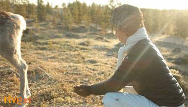 Con mis ojos en Laponia
