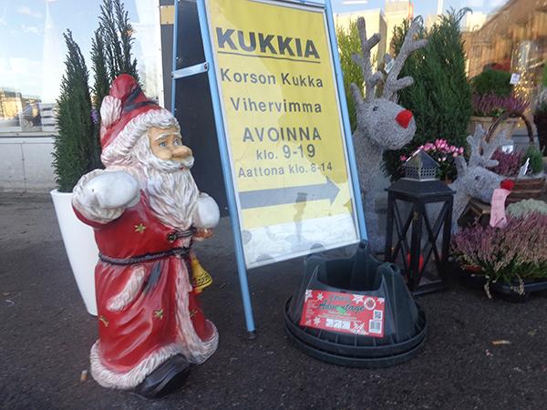 Navidad finlandesa VS Navidad española