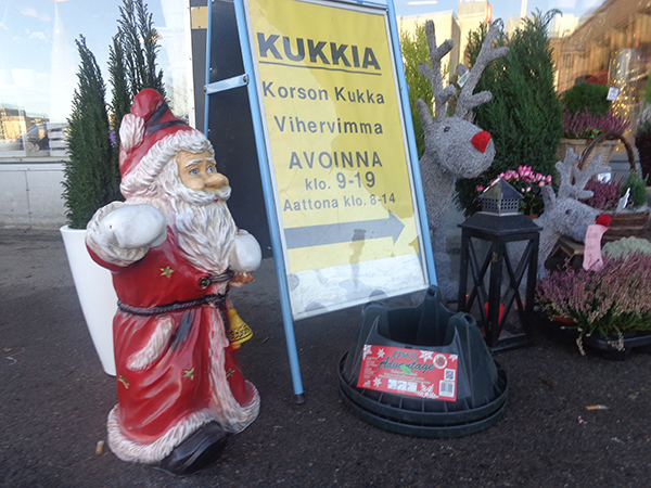 """Un """"Papá Noel"""" en Finlandia"""