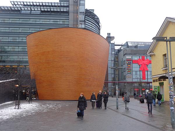 Capilla del silencio en Kamppi, Helsinki