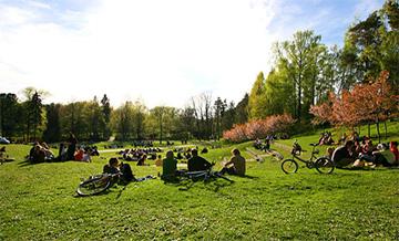 Alppipuisto, en Helsinki