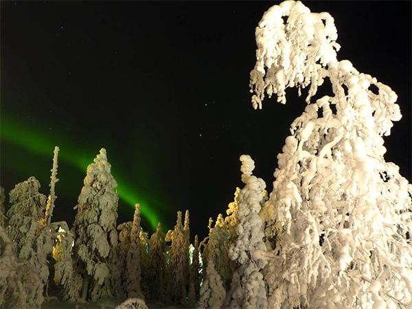 Aurora Boreal en Ruka