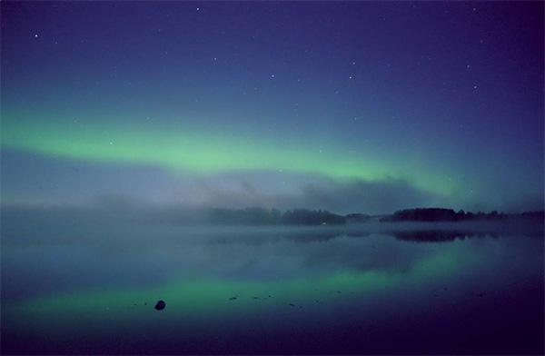 Aurora Boreal en Valkeakoski