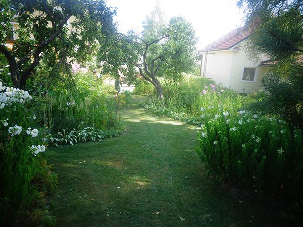 Jardín en Finlandia